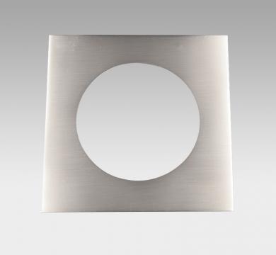 CORONA Square Trim Brushed Nickel