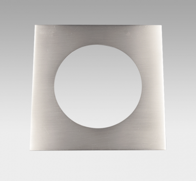 CORONA Square Trim Brushed Nickel