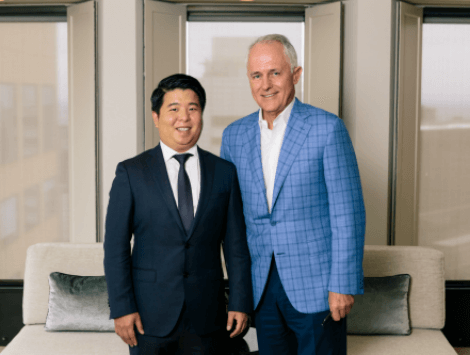 Haneco Dines with the Prime Minister