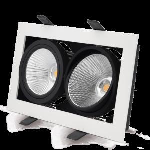 XBOX_Double_LED_adjustable_downlight