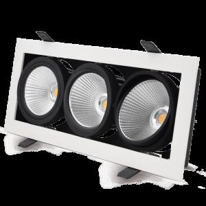 XBOX_Triple_adjustable_LED_downlight