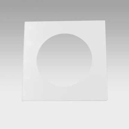 CORONA LED Fixed Downlight Square Trim White