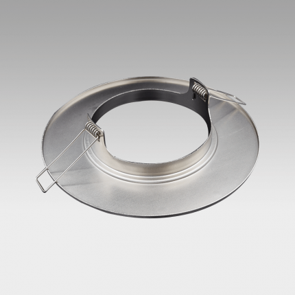 CORONA LED Fixed Downlight Adaptor Ring Brushed Nickel