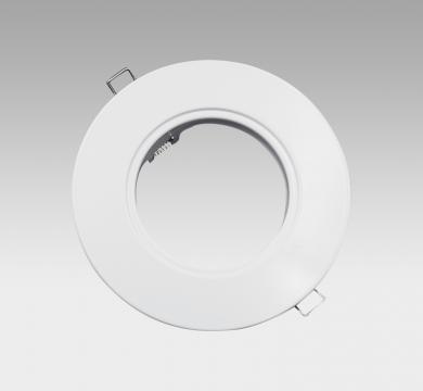 CORONA LED Fixed Downlight Adaptor Ring White