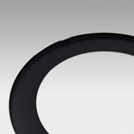 VIVA110 LED Fixed Downlight Clip-on Trim Black