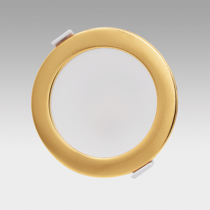 VIVA 110 LED Fixed Downlight Clip-on Trim Gold