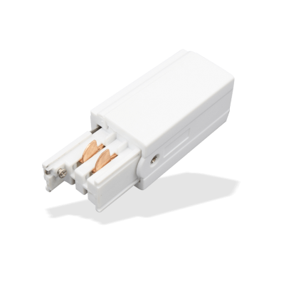 Tracklight Accessory – White 240V Initial Feed, allows connection from power supply