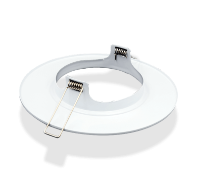 VIVA 110 LED Fixed Downlight Adaptor Ring 170 White
