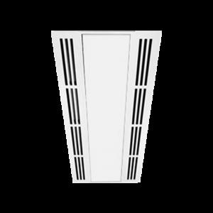Vented Plaster Recess Frame