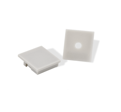 Extra end caps for PARALLAX Surface Mount 180° Wide View