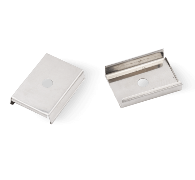 Extra end caps for PARALLAX Surface Mount Up/down concealed