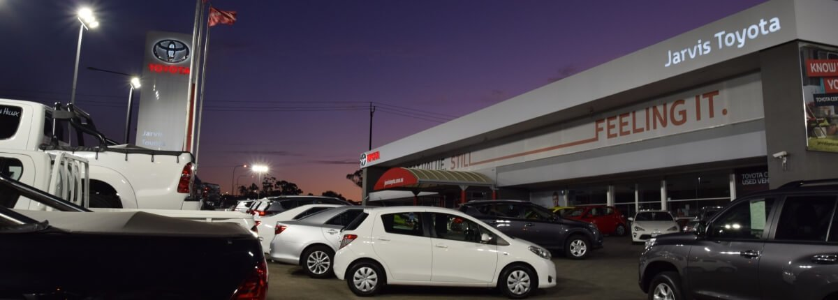 Brightening up Jarvis Toyota