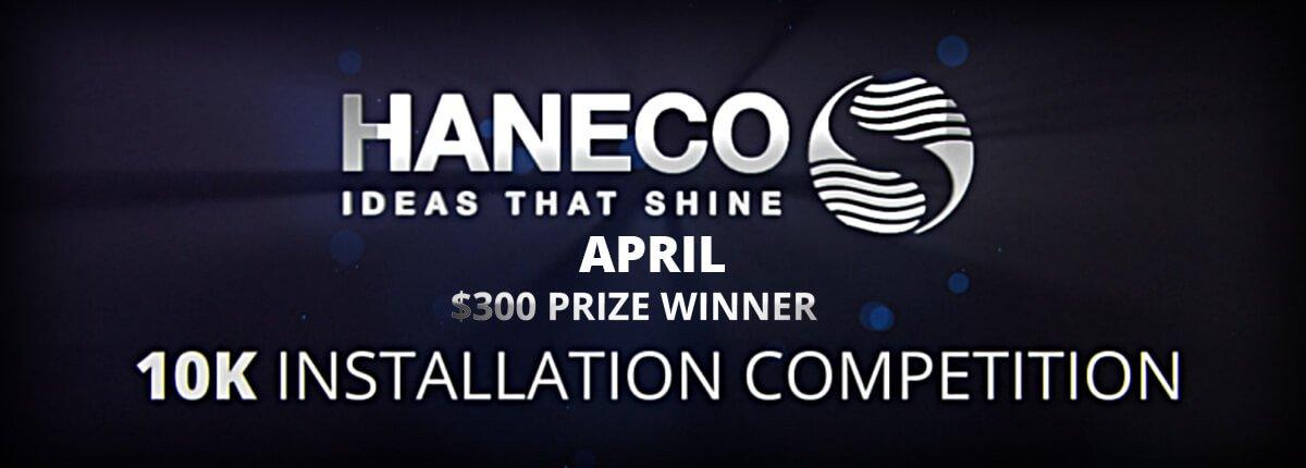 April 2019 Winner