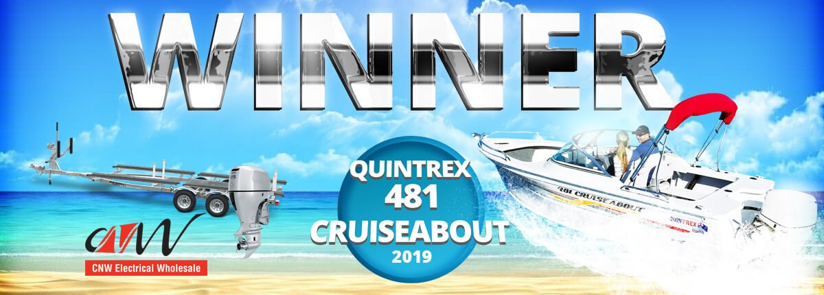 Quintrex 481 Cruiseabout Competition