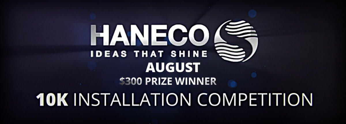 August 2019 Winner